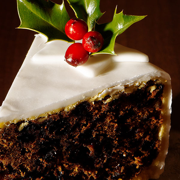 British Christmas Cake.Recipes Mary Berry