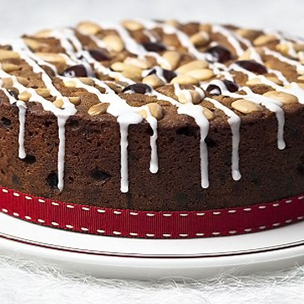 American Light Christmas Cake