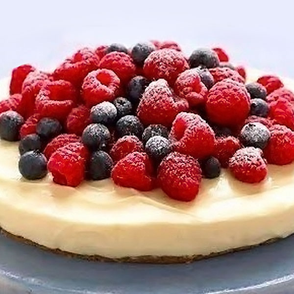 Recipes mary berry heavenly lemon cheesecake on a ginger crust 15 minutes fandeluxe Gallery